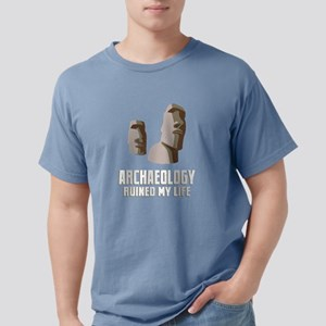 Archaeology Ruined My Life Archaeologist P T-Shirt