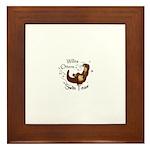 Willits Otters Framed Tile