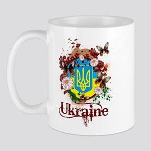 Butterfly Ukraine Mug