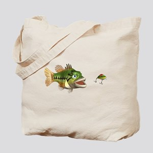 Fish and Lure Tote Bag