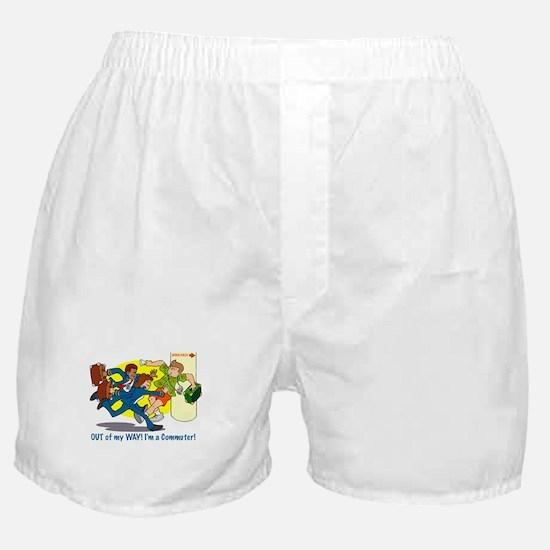 I'm A Commuter Boxer Shorts