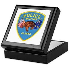Whittier AK Police Keepsake Box
