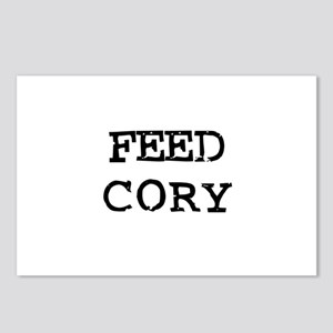 Feed Cory Postcards (Package of 8)