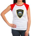 Lompoc Police Women's Cap Sleeve T-Shirt