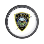 Lompoc Police Wall Clock
