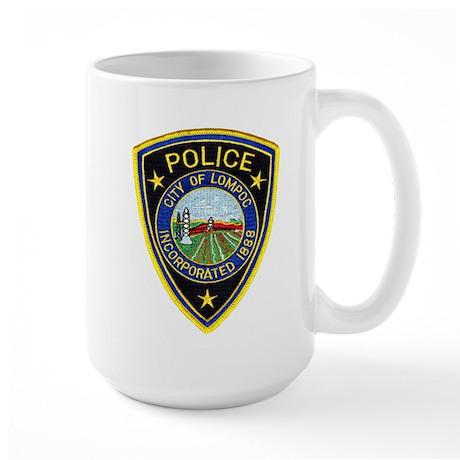 Lompoc Police Large Mug
