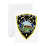 Lompoc Police Greeting Card