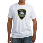 Lompoc Police Fitted T-Shirt