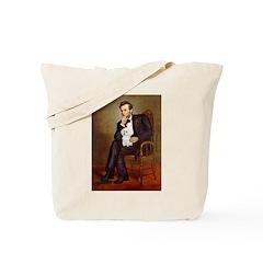 Lincoln/Poodle (W-Min) Tote Bag