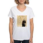 Heck Thomas Women's V-Neck T-Shirt