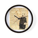 Heck Thomas Wall Clock