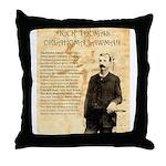 Heck Thomas Throw Pillow