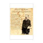 Heck Thomas Mini Poster Print