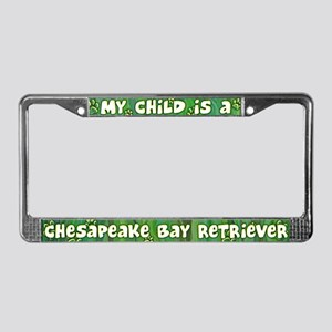 My Kid Chesapeake Retriever License Plate Frame