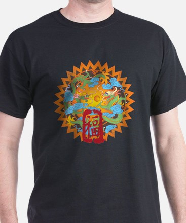Good Fortune Dragons T-Shirt