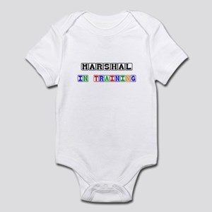 Marshal In Training Infant Bodysuit