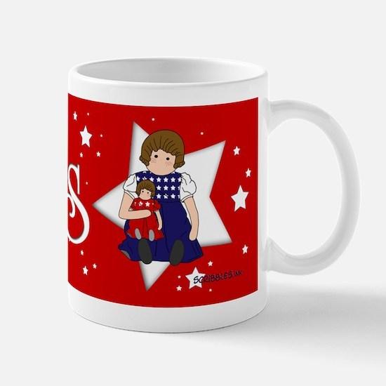 Dolls w/Stars Mug