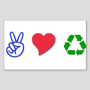 Environment Rectangle Sticker
