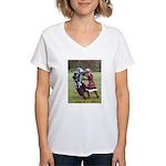 Natural selection Women's V-Neck T-Shirt