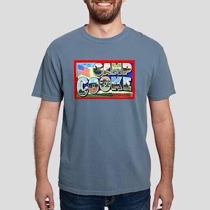 Camp Cooke California Ash Grey T-Shirt
