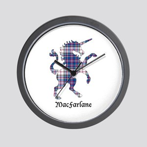 Unicorn-MacFarlane dress Wall Clock