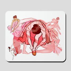 Ballet Dancers Mousepad