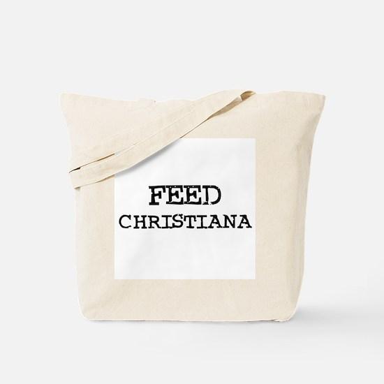 Feed Christiana Tote Bag