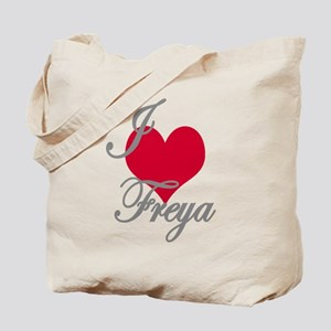 I love (heart) Freya Tote Bag