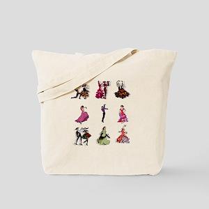 Flamenco Spanish Dancing Tote Bag