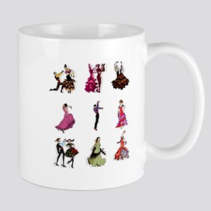 Flamenco Spanish Dancing Mug