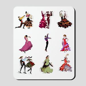 Flamenco Spanish Dancing Mousepad