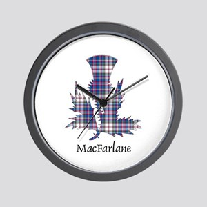 Thistle-MacFarlane dress Wall Clock