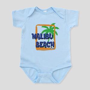Malibu Beach Palm Tree Infant Bodysuit