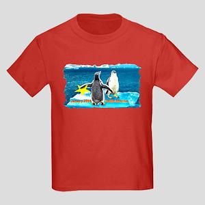 STAR Penguins S. America Logo- Kids Dark T-Shirt