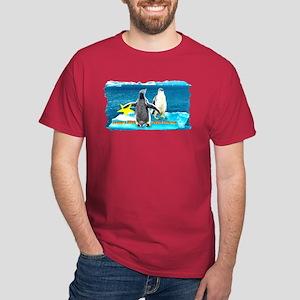 STAR Penguins S. America Logo- Dark T-Shirt