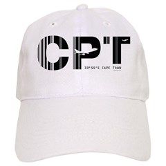 Cape Town Airport Code CPT South Africa Baseball Cap