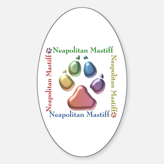 Neo Name2 Oval Decal