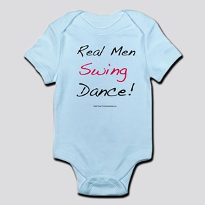 Real Men Swing Dance Infant Bodysuit