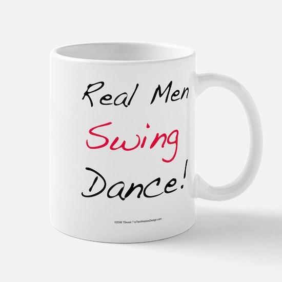 Real Men Swing Dance Mug
