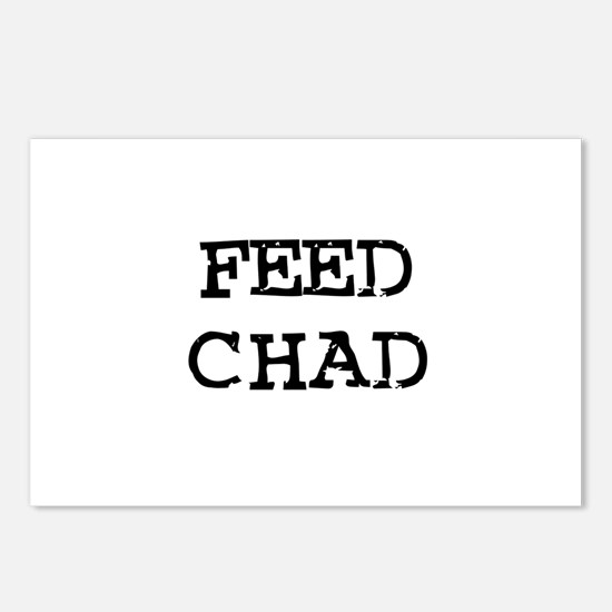 Feed Chad Postcards (Package of 8)