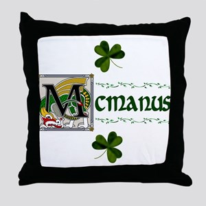 McManus Celtic Dragon Throw Pillow