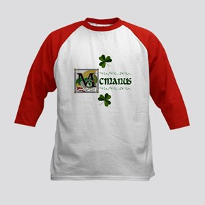 McManus Celtic Dragon Kids Baseball Jersey