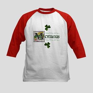 McManus Celtic Dragon Kids Baseball Jersey