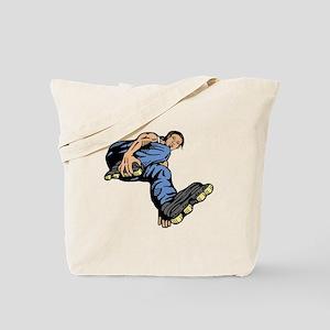 Rollerbladers Rollerblade Tote Bag
