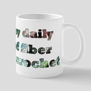 Crochet Fiber Mug