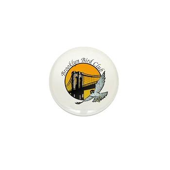 Brooklyn Bird Club Mini Button (10 pack)