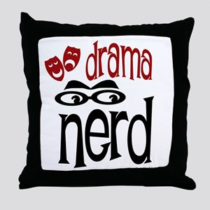 Drama Nerd Throw Pillow