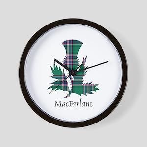 Thistle-MacFarlane hunting Wall Clock