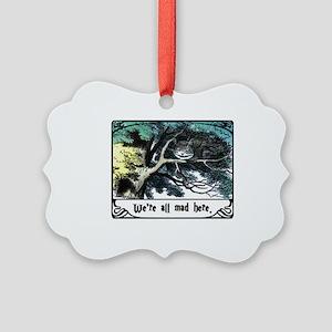 Cheshire Cat Picture Ornament