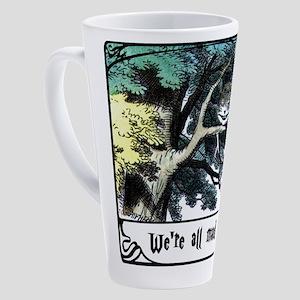 Cheshire Cat 17 oz Latte Mug